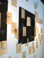 Ausstellung « à travers champs » Espace Ducroc, Grignant