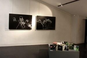 Ausstellung « à travers champs » l 'Espace Ducros, Grignan (F)