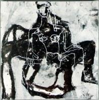 Balance - 100 x 100 cm - acrylique sur toile