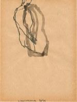 26 x 18 cm Bleistift und Tusche auf Papier