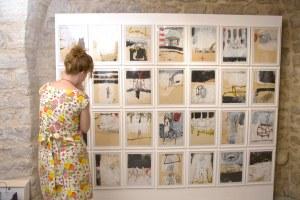 Installation –Ausstellung Galerie Pigment – in Lurs (F)