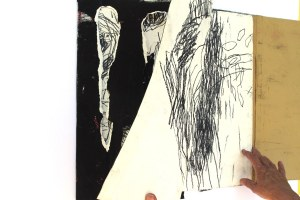 Leporello, 50 x 50 cm