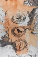 Gemeinsame Zeichnung mit Bernhard Maier - 100x63 cm