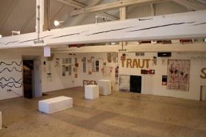 Ausstellung meines Ateliers (nach dem Werkaufenthalt)