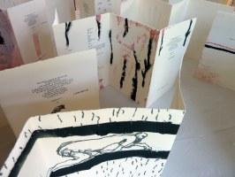 Ausstellung während dem « 11.Rencontre d'écriture », Vallée du Jabron, 2011