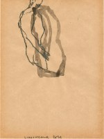 26 x 18cm crayon et encre de chine sur papier