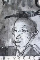 Porteur de rasine – 25 x 19cm technique mixte