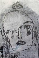 Hélène – 20 x 16 cm, technique mixte